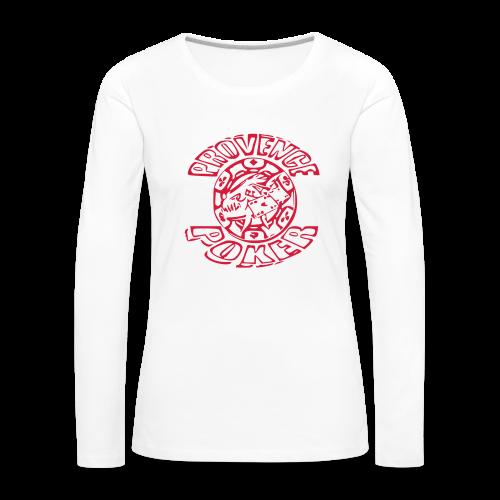 Tapis de souris - T-shirt manches longues Premium Femme