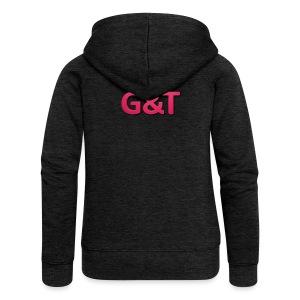 Spilla G&T (5 pack) - Felpa con zip premium da donna