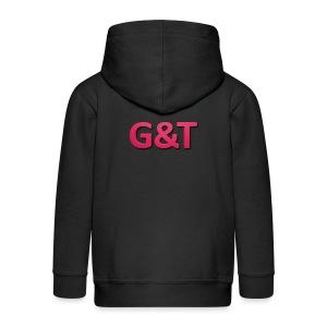 Spilla G&T (5 pack) - Felpa con zip Premium per bambini