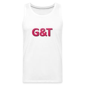 Spilla G&T (5 pack) - Canotta premium da uomo