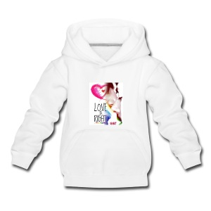 Tazza G&T Love is right - Felpa con cappuccio Premium per bambini