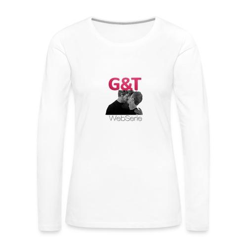 sottobicchieri G&T - Maglietta Premium a manica lunga da donna