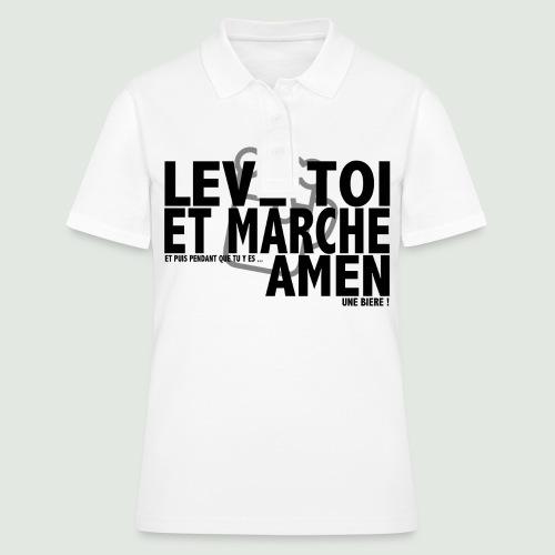 Amen grey - Women's Polo Shirt