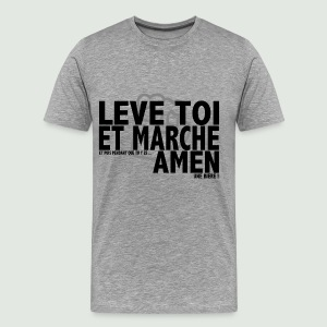 Amen grey - T-shirt Premium Homme