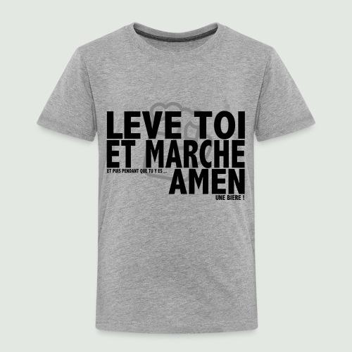 Amen grey - T-shirt Premium Enfant