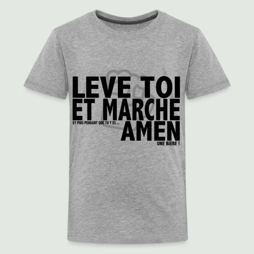Amen grey - T-shirt Premium Ado