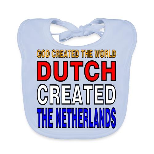 DUTCH PRIDE - create the netherlands - Bio-slabbetje voor baby's