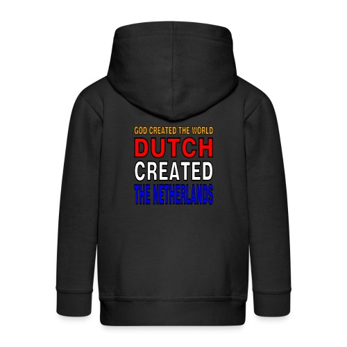 DUTCH PRIDE - create the netherlands - Kinderen Premium jas met capuchon