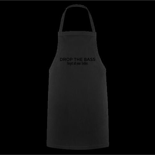 Drop the Bass T-Shirt (Herren Schwarz/Weiß) - Kochschürze
