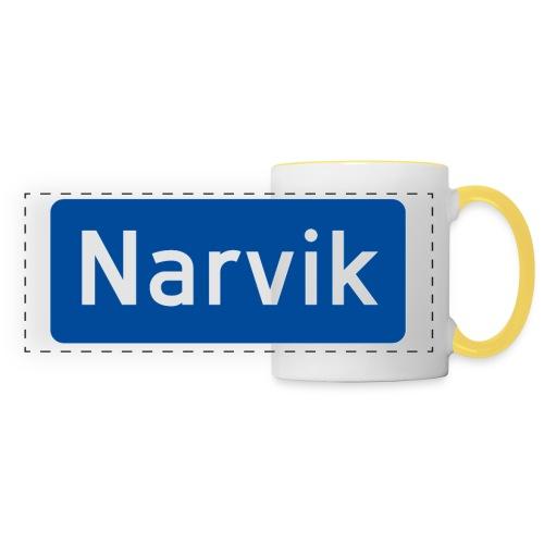 Narvik veiskilt - Panoramakopp