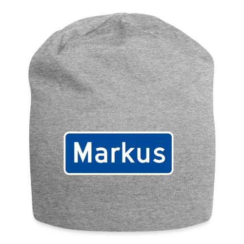 Markus veiskilt - Jersey-beanie