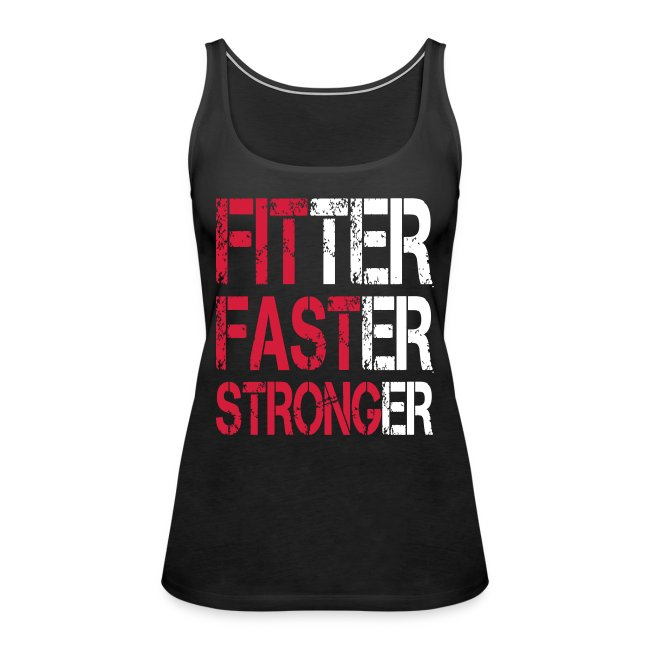 Fitter Faster Stronger