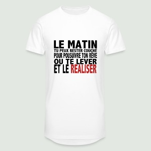 Le matin - T-shirt long Homme