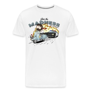 Madness - Base Ball Top - Men's Premium T-Shirt