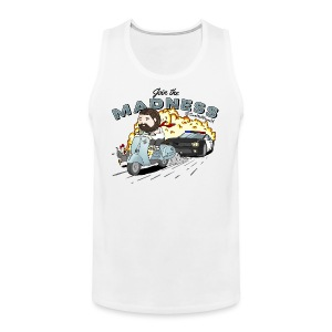 Madness - Base Ball Top - Men's Premium Tank Top