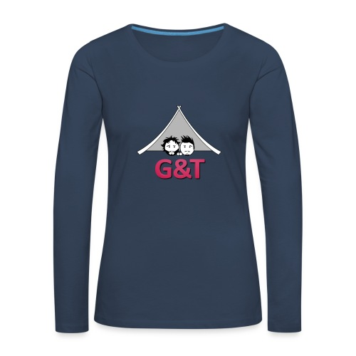 Tazza monocolore G&T tenda - Maglietta Premium a manica lunga da donna