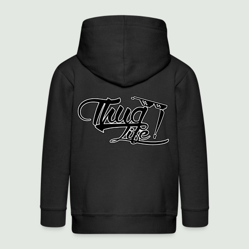 Thug Life - Veste à capuche Premium Enfant