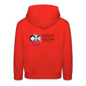 T-shirt ecologica donna Tommy vuoi sposarmi? - Felpa con cappuccio Premium per bambini