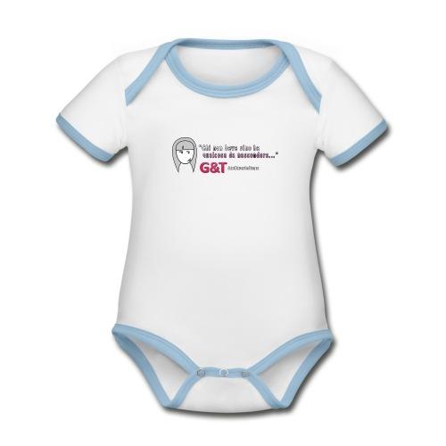 Maglietta donna Sara vino - Body da neonato a manica corta, ecologico e in contrasto cromatico