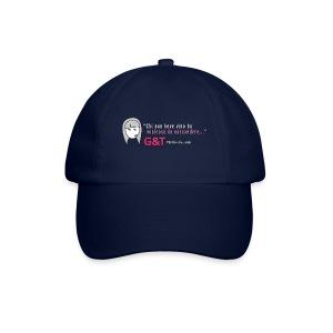 Maglietta donna Sara vino - Cappello con visiera