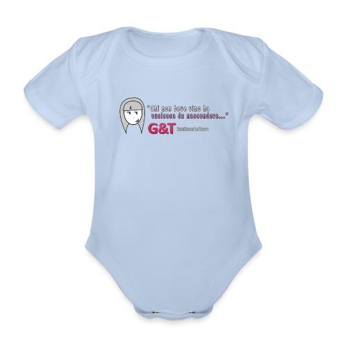 Maglietta donna Sara vino - Body ecologico per neonato a manica corta