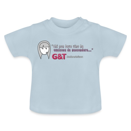 Maglietta donna Sara vino - Maglietta per neonato