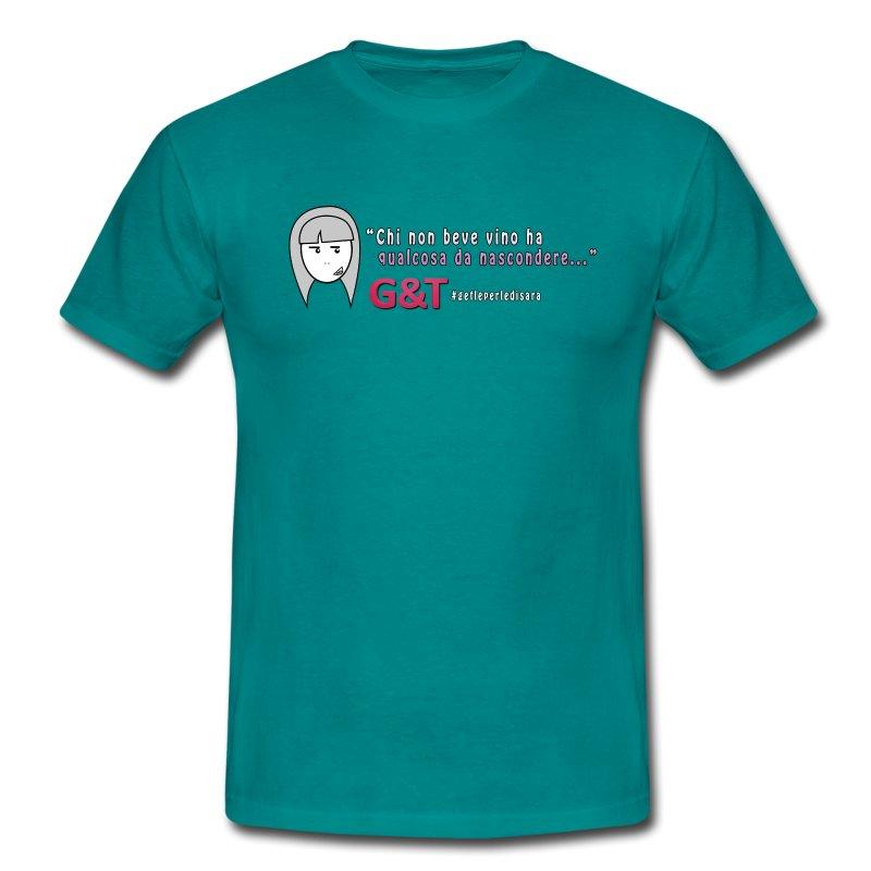 Maglietta donna Sara vino - Maglietta da uomo