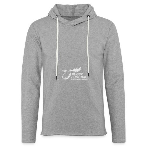 Panorama-Tasse mit rundum Design - Elche Logo - Leichtes Kapuzensweatshirt Unisex
