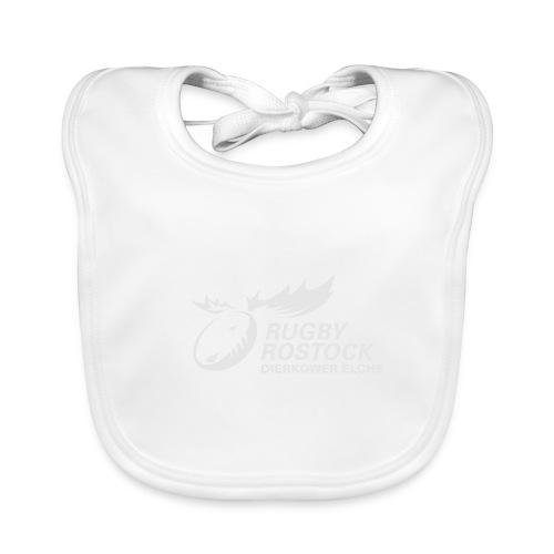 Panorama-Tasse mit rundum Design - Elche Logo - Baby Bio-Lätzchen