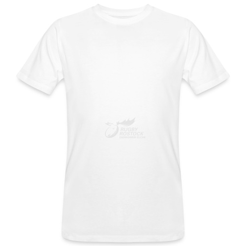 Panorama-Tasse mit rundum Design - Elche Logo - Männer Bio-T-Shirt