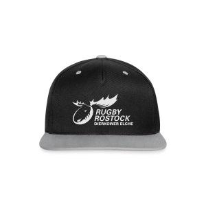 Panorama-Tasse mit rundum Design - Elche Logo - Kontrast Snapback Cap