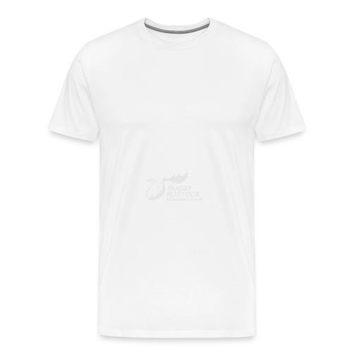 Panorama-Tasse mit rundum Design - Elche Logo - Männer Premium T-Shirt