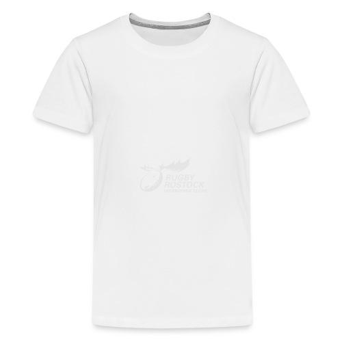 Panorama-Tasse mit rundum Design - Elche Logo - Teenager Premium T-Shirt
