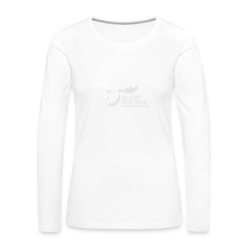 Panorama-Tasse mit rundum Design - Elche Logo - Frauen Premium Langarmshirt