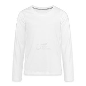 Panorama-Tasse mit rundum Design - Elche Logo - Teenager Premium Langarmshirt
