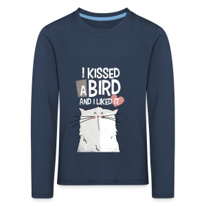 I kissed a bird - T-shirt manches longues Premium Enfant