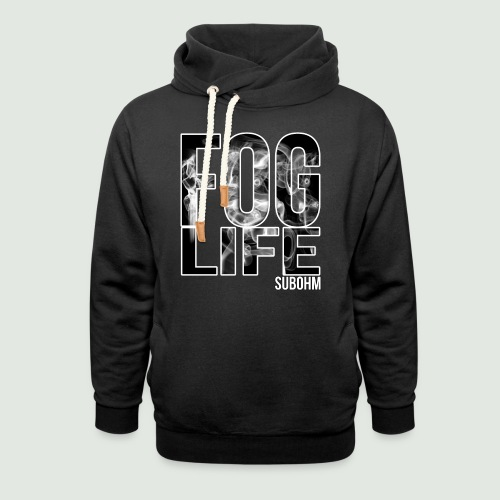 Fog Life - Sweat à capuche cache-cou