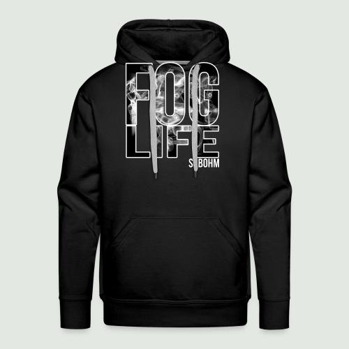 Fog Life - Sweat-shirt à capuche Premium pour hommes