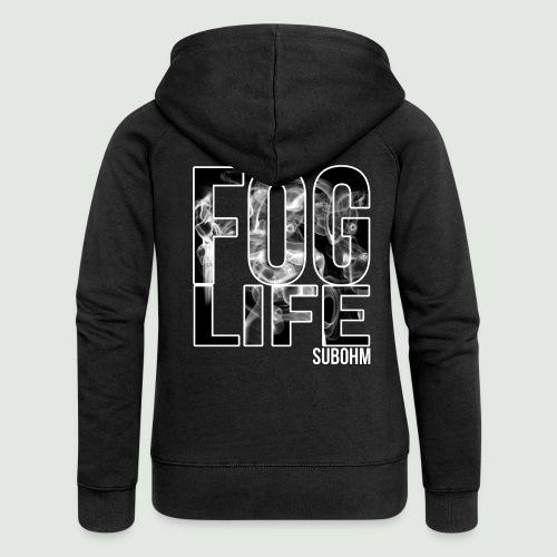 Fog Life - Veste à capuche Premium Femme