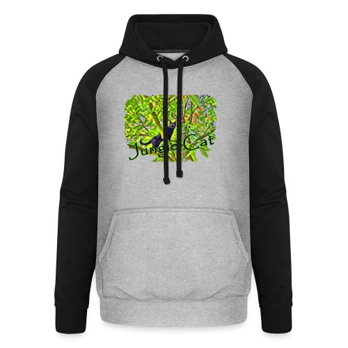 Jungle Cat - Unisex Baseball Hoodie