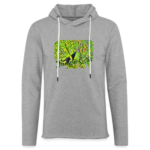 Jungle Cat - Leichtes Kapuzensweatshirt Unisex