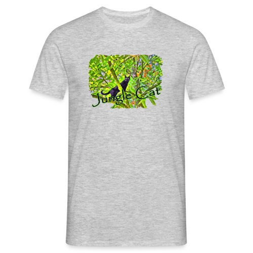 Jungle Cat - Männer T-Shirt
