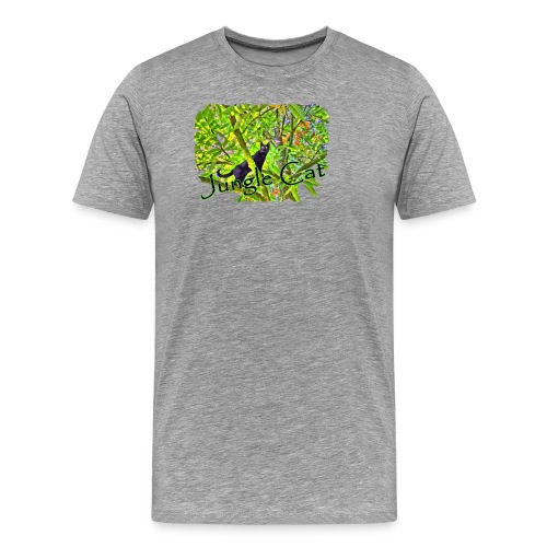 Jungle Cat - Männer Premium T-Shirt