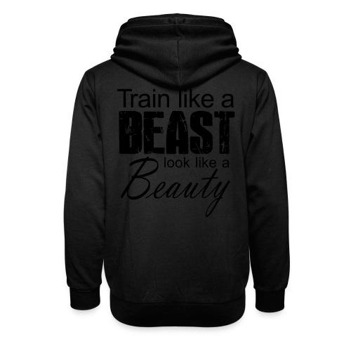 Train Like A Beast Look Like A Beauty - Schalkragen Hoodie
