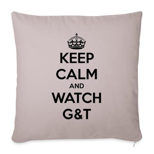 Tazza Keep Calm - Copricuscino per divano, 44 x 44 cm