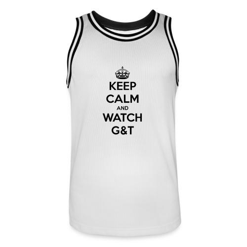 Tazza Keep Calm - Maglia da basket per uomo
