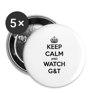Tazza Keep Calm - Spilla grande 56 mm