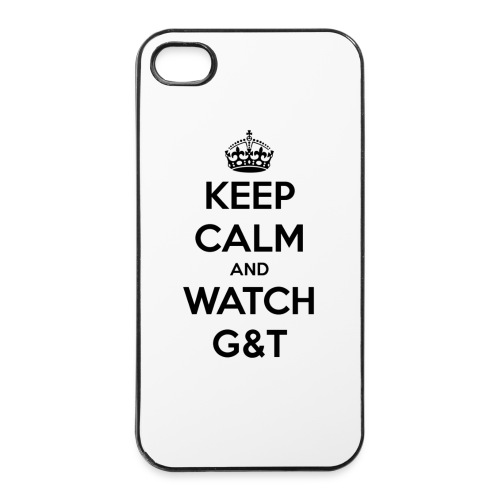 Tazza Keep Calm - Custodia rigida per iPhone 4/4s