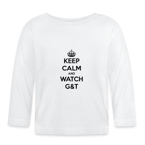 Tazza Keep Calm - Maglietta a manica lunga per bambini