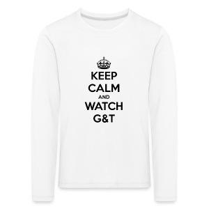 Tazza Keep Calm - Maglietta Premium a manica lunga per bambini
